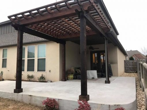 Concrete & Pergola Addition
