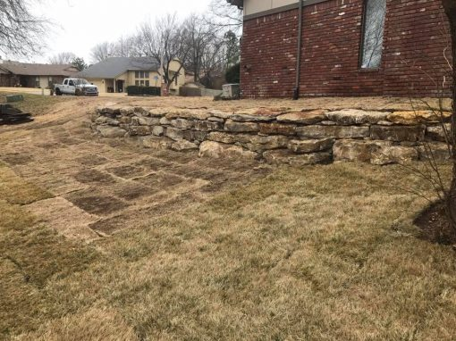 Rock Retaining Walls in Tulsa, OK